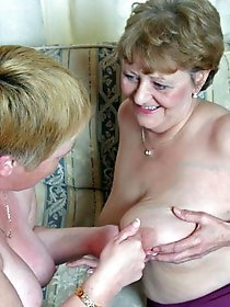 Sexy older MILFs playing with their vagina